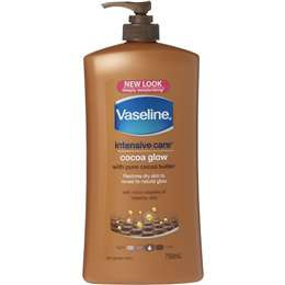 Vaseline Intensive Care Body Lotion Cocoa Glow 750ml