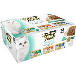 Fancy Feast Seafood Classic Pate 12x85g