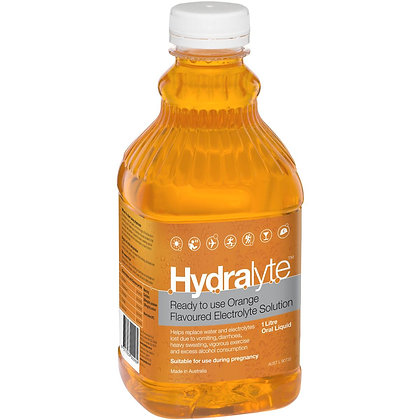 Hydralyte Electrolyte Solution Orange 1l