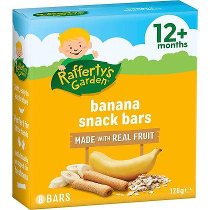 Rafferty's Garden Snack Banana Fruit Bars 8 pack