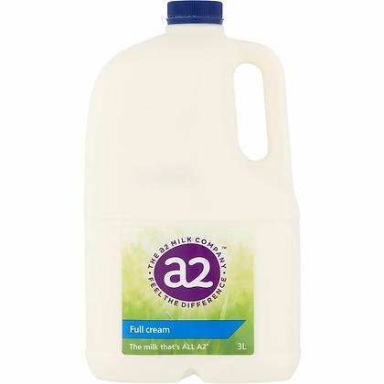 A2 Full Cream Milk 3l
