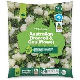 Broccoli & Cauliflower 500g