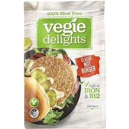 Vegie Delights Not Burger 340g
