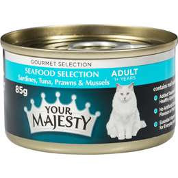 Your Majesty Cat Food Seafood Selection 85g