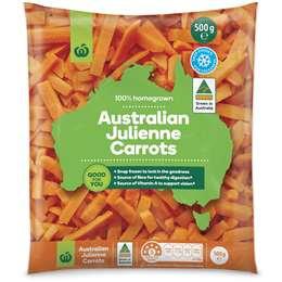 Julienne Carrots 500g