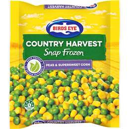 Birds Eye Country Harvest Mixed Vegetables Peas & Corn 1kg