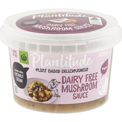 Plantitude Vegan Creamy Mushroom Sauce 300g