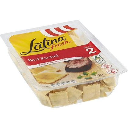 Latina Fresh Beef Ravioli 375g