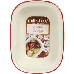 Wiltshire Bakeware Enamel Bake Pie Dish 20cm each