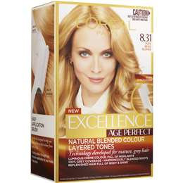 L'oreal Paris Excellence Age Perfect Radiant Pure Beige Blonde 8.31 each