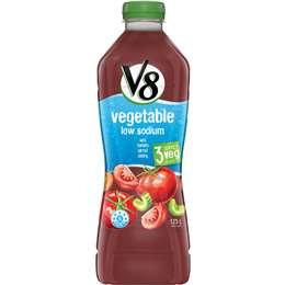 V8 Low Sodium Vegetable Juice 1.25l