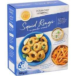 Ocean Chef Squid Rings Panko 360g
