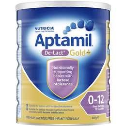 Aptamil Gold+ De-lact Lactose Free Formula 0-12mnths 900g