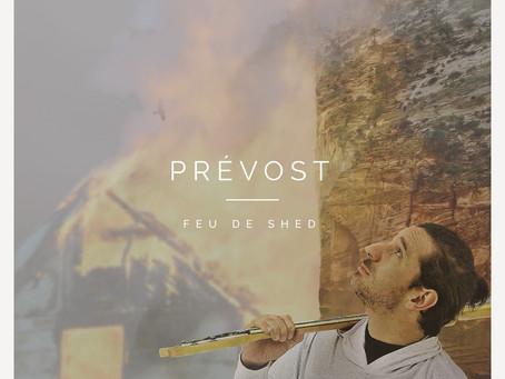 """Patrick Prévost présente son nouvel nouvel album, """"Feu de shed"""""""