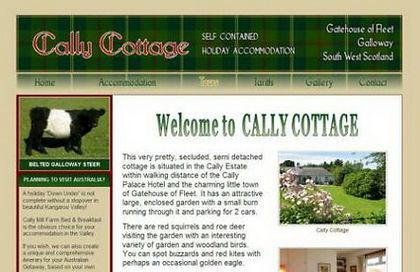 Cally Cottage Gatehouse of Fleet, Scotland, UK