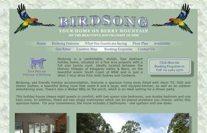 Birdsong B & B Berry, NSW