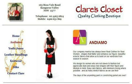 Clare's Closet Kangaroo Valley, NSW