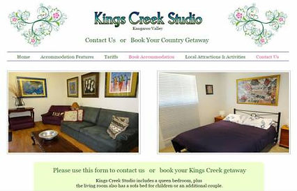Kings Creek Studio Kangaroo Valley, NSW