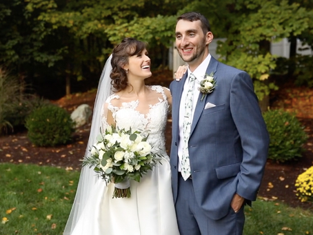 A Fall Wedding in Massachusetts