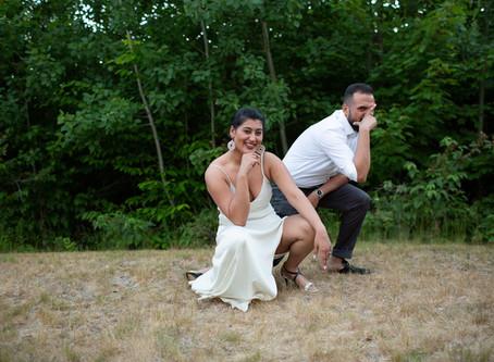 Taskina & Jumman's Wedding Party Video in Maine!