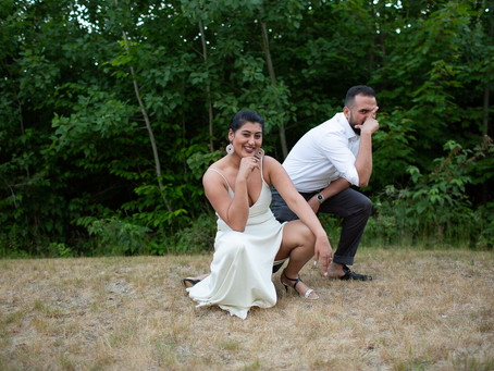 Taskina & Jumman's Wedding Party Video in Maine!