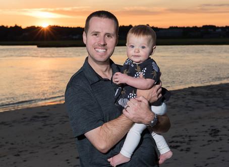 Scott & Caity's Fun Beach Sunset Portrait Shoot!