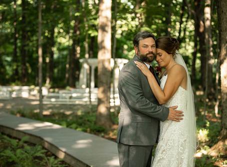 Tony & Jessie Barn Wedding in North Yarmouth, Maine