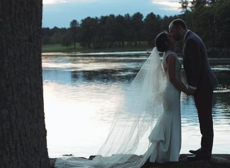York, Maine Riverside Wedding Video