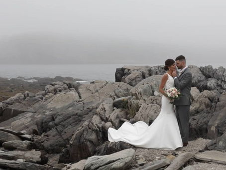 Chris & Emily - Maine Island Wedding Video