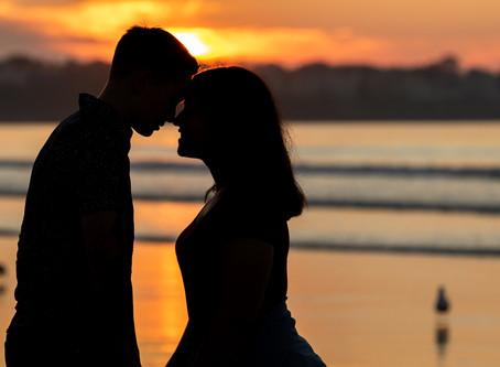 Amazing Couples Session Yesterday at Sunrise!