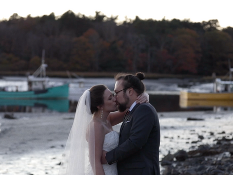 A 2 hour wedding on the coast of Maine