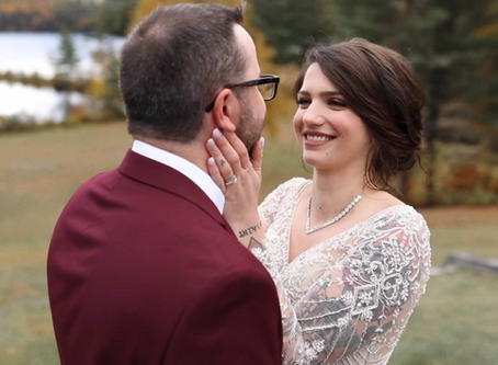 A Wedding Video At the Base of Bear Mountain, Maine