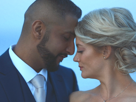 Ashley & Arun | Seaside Maine Wedding Video