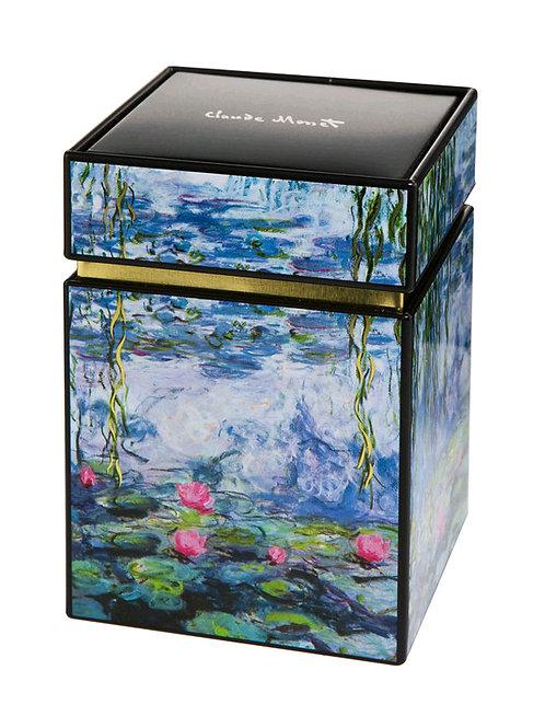 Caja de té Los Nenúfares de Claude Monet