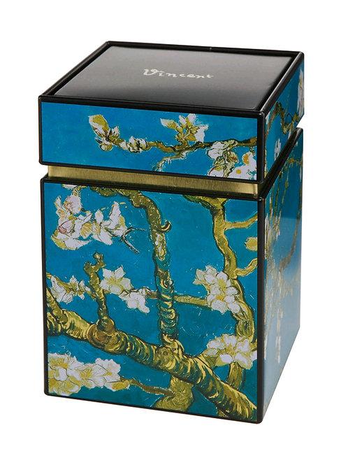 Caja de té Los Almendros (Van Gogh)