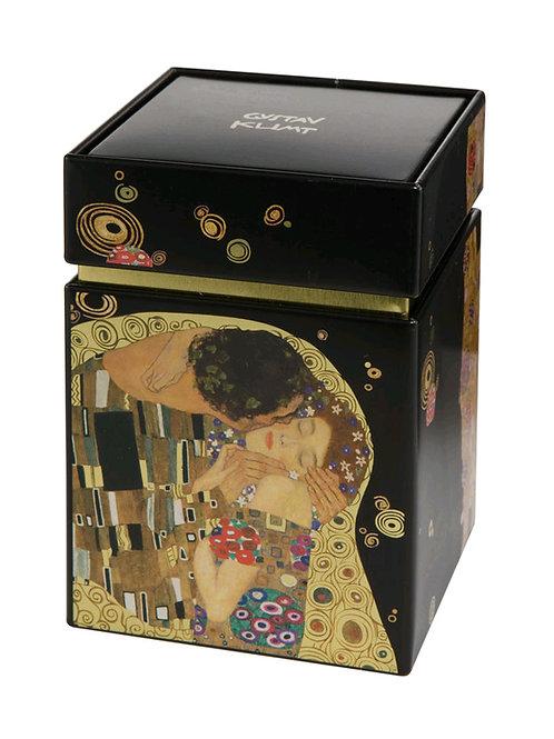 Caja de té El Beso de Gustav Klimt