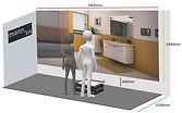 système immersif - Réalité Virtuelle - Cube - Immersion - 3D