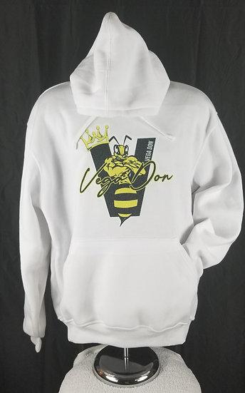 Vega Don Hoodie -Yellow Bee & Signature Logo (S-M-L-XL-2XL)