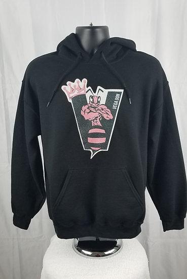 Vega Don Black Hoodie -Bee Logo (S-M-L-XL-2XL)