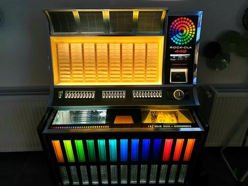 Vinyl Juke Box Rock-Ola