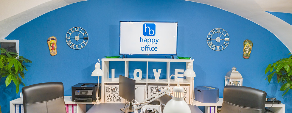 happy office Budapest                                        since 2019