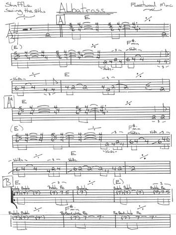 Albatross - Fleetwood Mac (Pg.1)