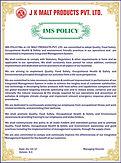 J K Malt IMS Policy v 4.JPG