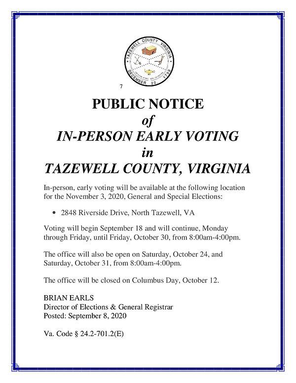 public notice of voting locations _1_.jp