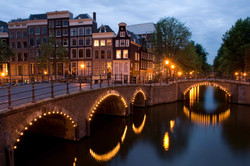 Night scene_Amsterdam