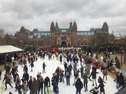 I amsterdam in winter