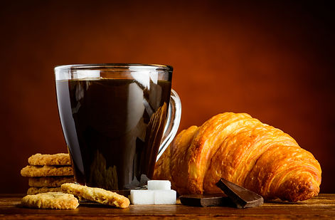 coffee-cup-with-croissant-and-biscuits-P