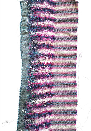 Textile Wall Art - 'tying-in'