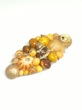 Shell Hair Barrette