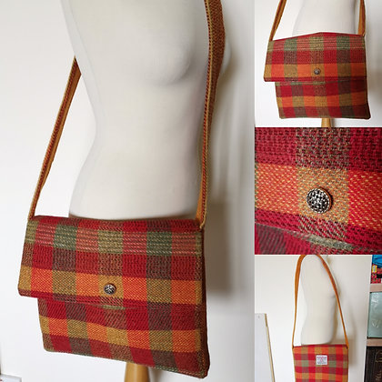 Harris tweed shoulder bag